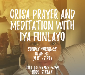 Orisa prayer